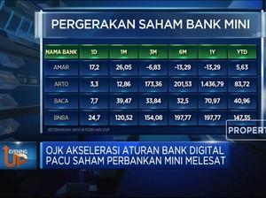 Dilanda Euforia Bank Digital, Saham Bank Mini Terbang Tinggi