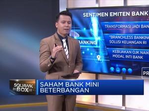Saham Bank Mini Beterbangan