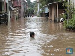 Mengintip Banjir Langganan di Cipinang Melayu Jakarta
