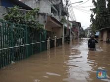 BPBD Jakarta: 99 RT Terdampak Banjir, 694 Orang Mengungsi