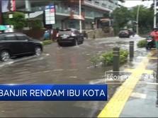 Banjir Rendam Jakarta dan Bekasi