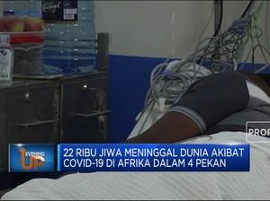 Kematian Akibat Covid-19 Di Afrika Tembus 100 Ribu Orang