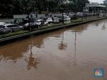 Ini Penampakan Banjir di Tol Tb Simatupang Jakarta