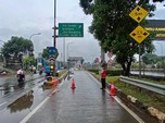 Jakarta Banjir, Sejumlah Gerbang Tol JORR Ditutup