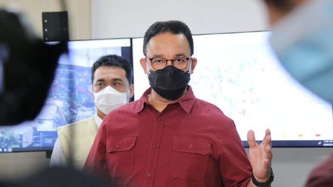 CNBC Indonesia Poll Anies 100% Sukses Kendalikan Banjir DKI, Menurut Anda?