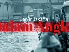 Banjir Jakarta dalam Angka, Dari Sutiyoso, Ahok Hingga Anies
