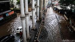 Anak Buah Anies Jawab Anggapan Hujan Sedikit Jakarta Tergenang