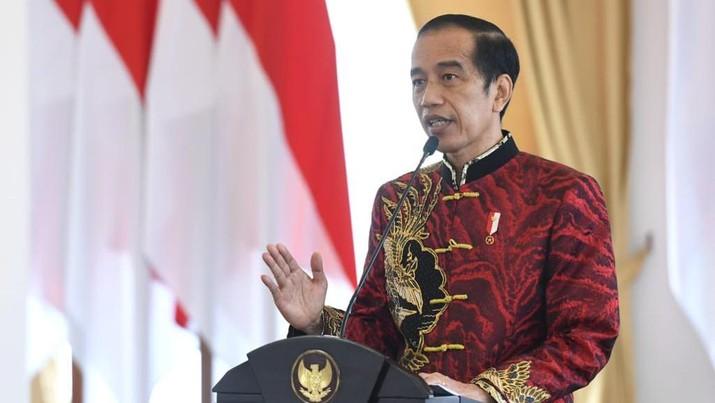 Presiden RI Jokowi Rayakan Imlek RI (Foto: Lukas - Biro Pers Sekretariat Presiden)