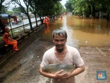 Simak! Titik-titik Genangan Air Jakarta & Sekitarnya Pagi ini