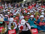 Myanmar Ngenes: Bank Kehabisan Uang, ATM Kosong