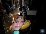 Intip Pemukiman Kemang Kebanjiran Akibat Luapan Kali Krukut