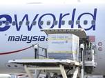Penampakan Malaysia Kedatangan Perdana Vaksin Covid-19 Pfizer