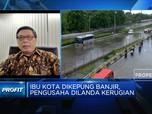 Kadin: Banjir Jakarta, Pengusaha Rugi Ratusan Miliaran