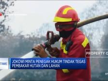 Jokowi: Tak Becus Urus Karhutla, Saya Copot!