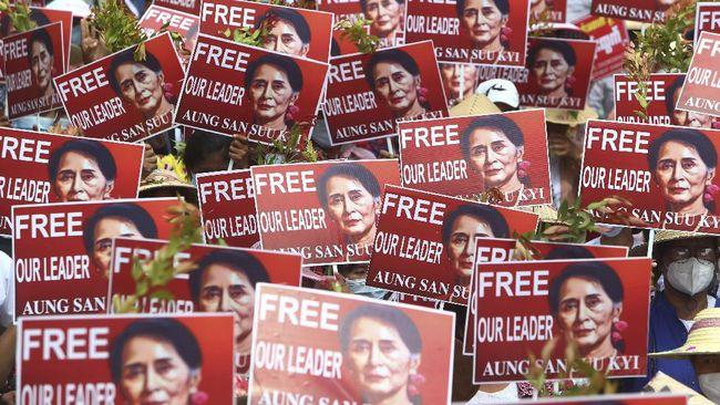 Emosional, Myanmar Minta Tolong Dunia Hentikan Jun