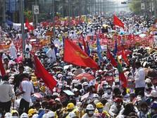 Alamak! Ada 180 Ribu Bukti Kekejaman Junta Militer Myanmar