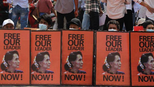 Heboh Kedubes RI Diserbu Demo Myanmar, Dituding Dukung Junta