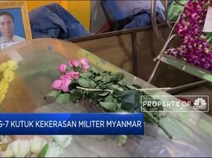 G-7 Kutuk Kekerasan Militer Myanmar