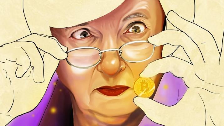 INFOGRAFIS, Warning Yellen Buat Bitcoin: BAHAYA!