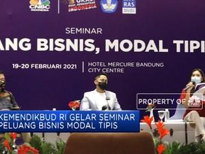 Kemendikbud RI Gelar Seminar Peluang Bisnis Modal Tipis