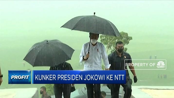 Kunjungan Kerja Presiden Jokowi ke NTT