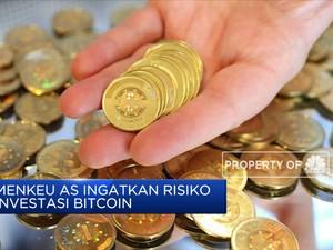 Menkeu AS Ingatkan Risiko Investasi Bitcoin