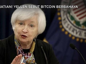 Perhatian! Yellen Sebut Bitcoin Berbahaya