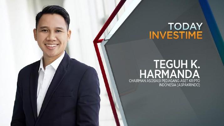 Teguh Kurniawan, COO Tokocrypto/ Chairman Asosiasi Pedagang Aset Kripto Indonesia (ASPAKRINDO)