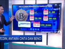 Bitcoin, Antara Cinta dan Benci
