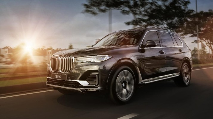 BMW X7 (Dok. BMW Group Indonesia)