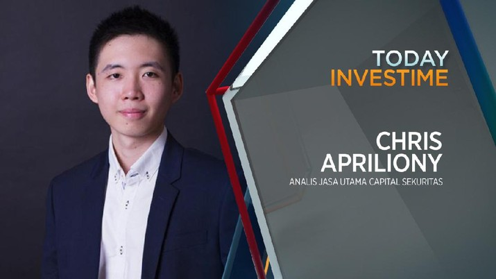 Chris Apriliony, Analis Jasa Utama Capital Sekuritas