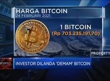 Investor Dilanda 'Demam' Bitcoin