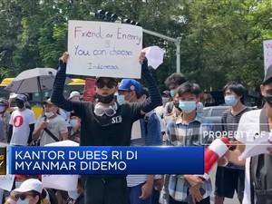 Kantor Dubes RI di Myanmar Didemo