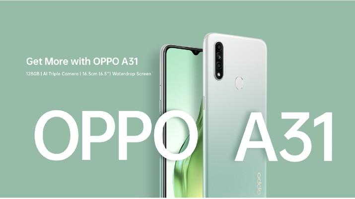 OPPO A31/ ScreenShot Oppo.com
