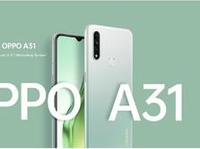 Harga Terbaru Oppo A31 dan Spesifikasi Lengkapnya