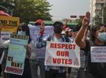 Fakta-fakta Kedubes RI Diserbu Pendemo Anti Kudeta Myanmar