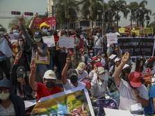 Myanmar Chaos, Jurnalis Ditahan, Seorang Wanita Ditembak!