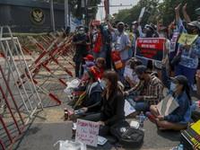 Heboh Kedubes RI Diserbu Myanmar, Menlu Bertemu Pejabat Junta