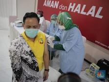 Vaksinasi Lambat, Mentok 13 Juta Orang Disuntik Akhir Tahun