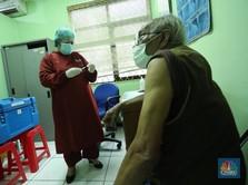 Viral Antrean Panjang Vaksinasi Covid Lansia, Ini Kata Satgas