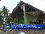 9.438 Warga Mengungsi Akibat Tanggul Citarum Jebol