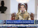 Jokowi 'Pamer' Ekspor Meroket & Investasi Melesat di 2020