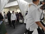 Jokowi Tinjau Vaksinasi 5.500 Insan Pers
