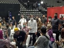 Janji Jokowi: Seluruh Insan Pers Segera Divaksinasi Covid-19
