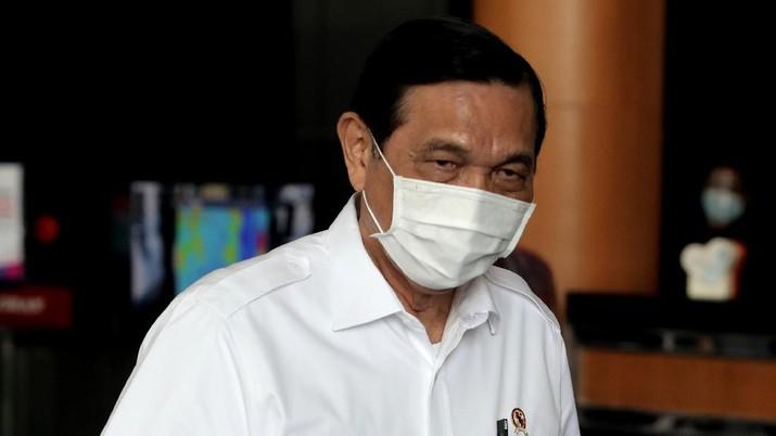 Luhut Binsar Pandjaitan. (CNBC Indonesia/Muhammad Sabki)