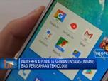 Parlemen Australia Sahkan UU Perusahaan Teknologi