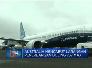 Australia Cabut Larangan Penerbangan Boeing 737 Max