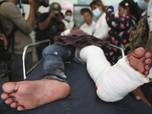 Ricuh! Begini Penampakan Bentrokan Pendemo-Polisi di Myanmar