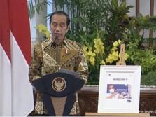 Jokowi Sentil Menkominfo Soal Utilisasi Palapa Ring