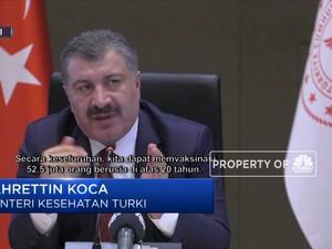 Pemerintah Turki Amankan 105 Juta Dosis Vaksin Covid-19